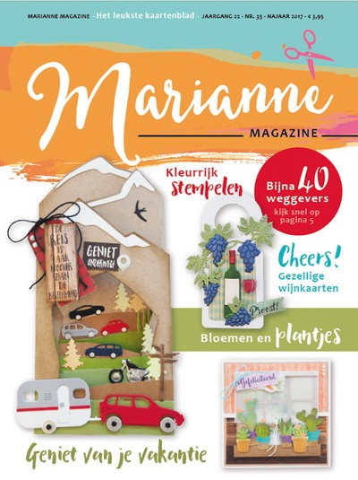 Marianne Design - Marianne Doe - Magazine No. 35 - DOE35