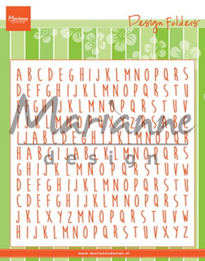 Marianne Design - Design Folder - ABC - DF3437