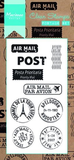 Marianne Design - Clearstamp - Postage set - CS0995
