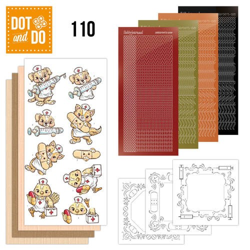 Card Deco - Kaartenpakketten - Dot & Do - No. 110 - Beterschap