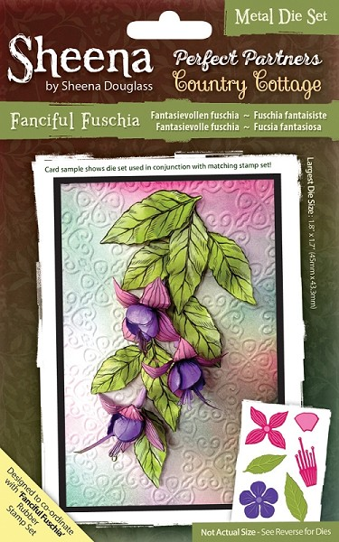 Sheena Douglass - Die - Country Cottage - Fanciful Fuschia
