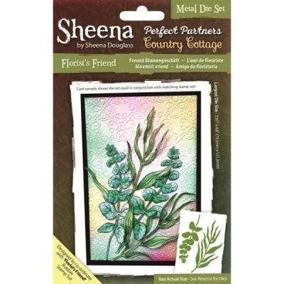 Sheena Douglass - Die - Country Cottage - Florist`s Friend