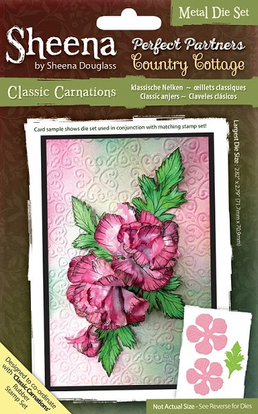 Sheena Douglass - Die - Country Cottage - Classic Carnations