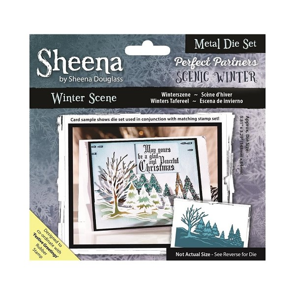Sheena Douglass - Die - Scenic Winter - Winter Scene