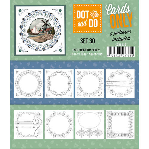 Card Deco - Oplegkaarten - Dot & Do - Cards Only - Set 30 - CODO030