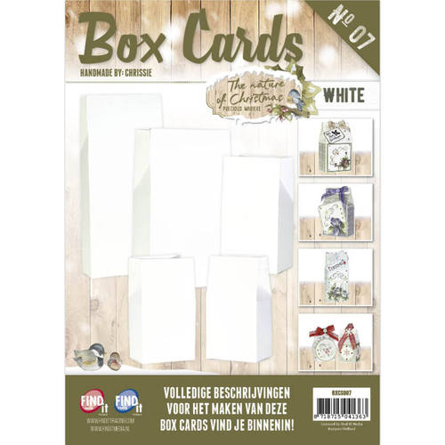 Card Deco - Box Cards - No. 7 - The Nature of Christmas - BXCS007-01