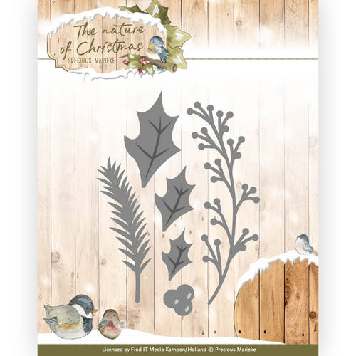 Precious Marieke - Die - The nature of Christmas - Christmas Florals - PM10103