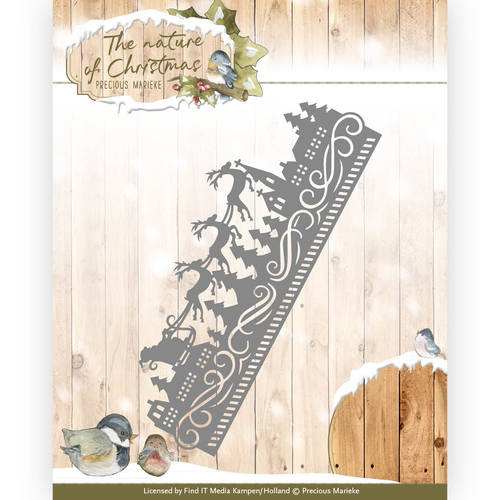 Precious Marieke - Die - The nature of Christmas - Christmas Border - PM10099
