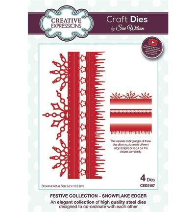 Creative Expressions - Die - The Festive Collection - Snowflake Edger