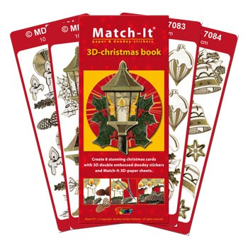 Doodey - Match-It - 3D-Christmas book - 471
