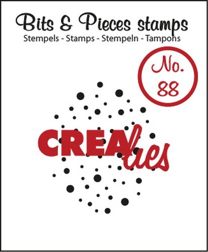 Crealies - Clearstamp - Bits & Pieces - No. 88 - Cloud of dots - CLBP88
