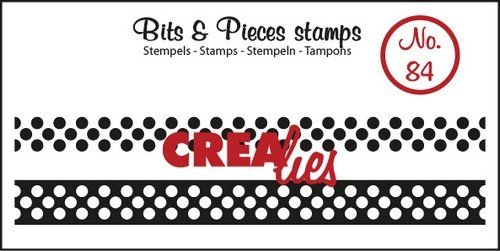Crealies - Clearstamp - Bits & Pieces - No. 84 - Lint dots - CLBP87