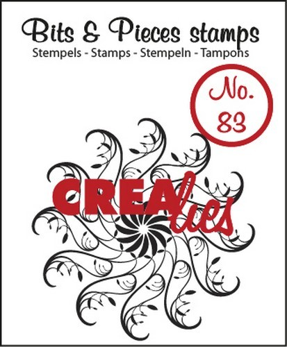 Crealies - Clearstamp - Bits & Pieces - No. 83 - Circle of swirls - CLBP83