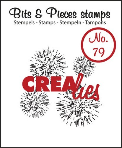 Crealies - Clearstamp - Bits & Pieces - No. 79 - Grunge circles - CLBP79