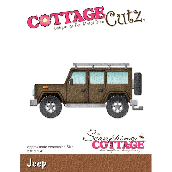 Cottage Cutz - Die - Jeep - CC-259