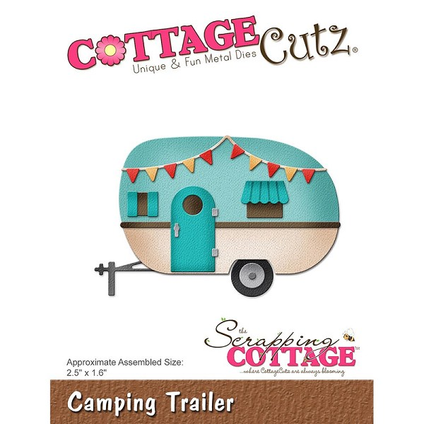 Cottage Cutz - Die - Camping Trailer - CC-254