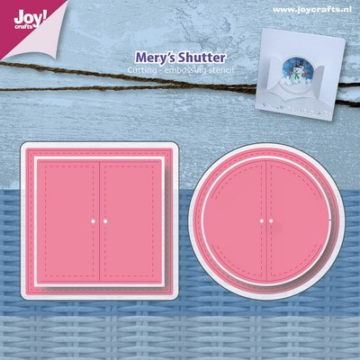Joy! crafts - Die - Mery`s shutter - 6002/0953