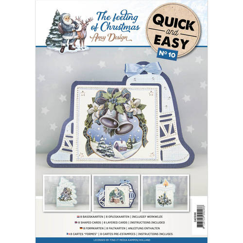 Card Deco - Quick and Easy 10 - Amy Design - The feeling of Christmas - QAE10010