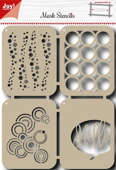 Joy! crafts - Maskingstencil - Bubbles - 6002/0831