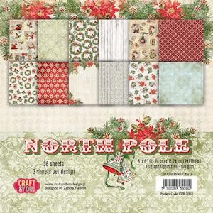Craft & You Design - Paperpack - 152 x 152mm - North Pole - CPB-NP15