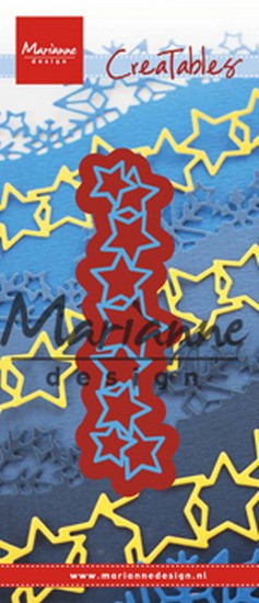 Marianne Design - Die - CreaTables - Lots of stars - LR0487