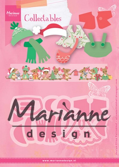 Marianne Design - Die - Collectables - Eline`s outfits - COL1438