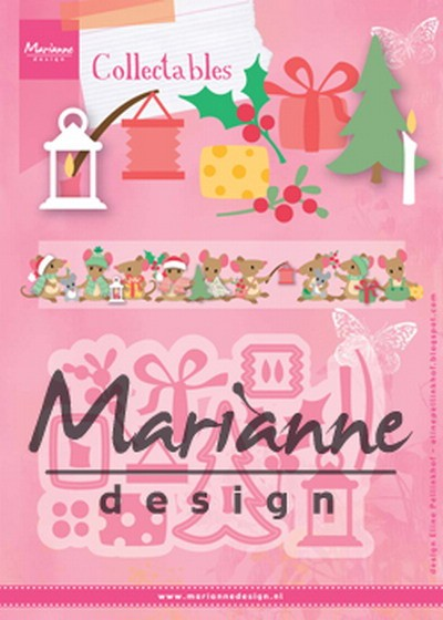 Marianne Design - Die - Collectables - Eline`s Christmas decoration - COL1439
