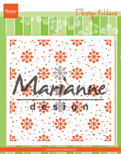 Marianne Design - Design Folder - Snow and ice crystals - DF3440