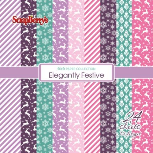 ScrapBerry`s - Paperpack - Elegantly Festive - SCB220609813x