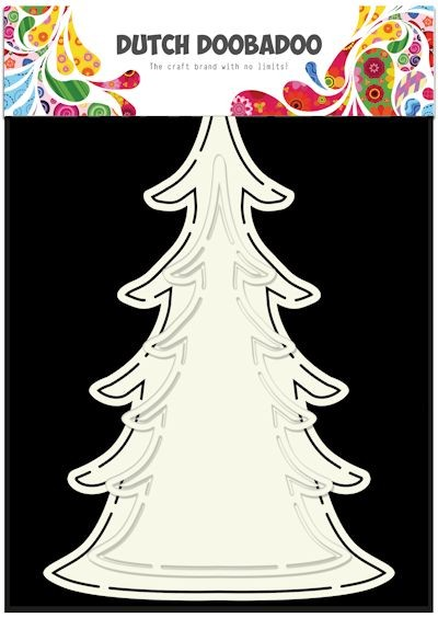 Dutch Doobadoo - Card Art - Xmas Tree - 470.713.643