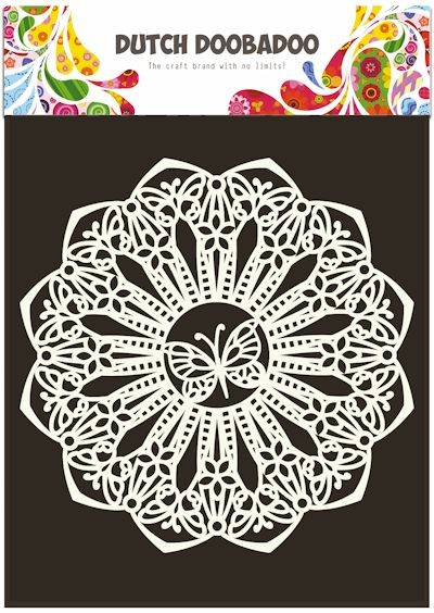 Dutch Doobadoo - Maskingstencil - Butterfly - 470.715.110