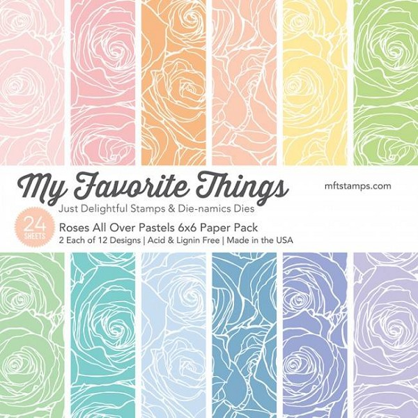 My Favorite Things - Paperpacks - Roses All Over - Pastels - EP-44