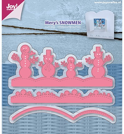 Joy! crafts - Die - Mery`s snowmen - 6002/0952