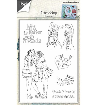 Joy! crafts - Clearstamp - Friendship - 6410/0450