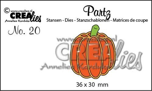 Crealies - Die - Partz - No. 20 - Pumpkin B