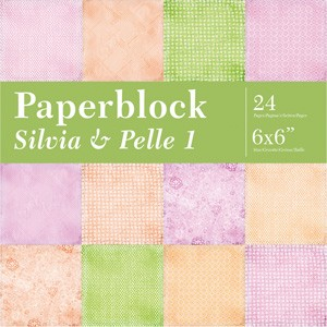 CreaMotion - Paperpack - 152 x 152mm - Sylvia & Pelle 1 - BPB5328 99