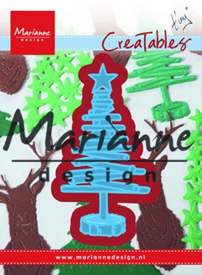 Marianne Design - Die - CreaTables - Tiny`s Christmas tree wood - LR0492