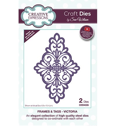 Creative Expressions - Die - The Frames & Tags Collection - Victoria - CED4335