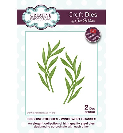 Creative Expressions - Die - The Finishing Touches Collection - Windswept Grasses - CED1489