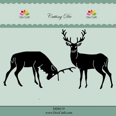 Dixi Craft - Die - Reindeers - MD0119