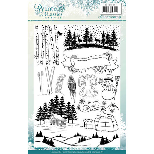 Jeanine`s Art - Clearstamp - Winter Classics - JACS10007
