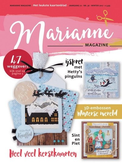 Marianne Design - Marianne Doe - Magazine No. 36 - DOE36