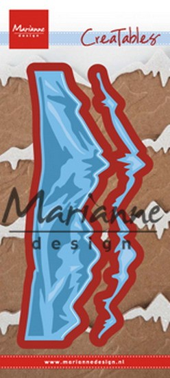 Marianne Design - Die - CreaTables - Horizon Snowy Mountains - LR0493