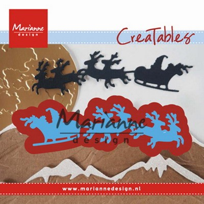Marianne Design - Die - CreaTables - Santa is coming - LR0495
