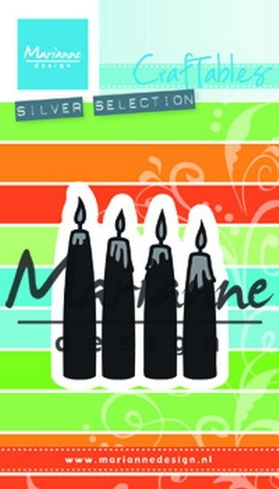 Marianne Design - Die - Craftables - Advent Candles - CR1425