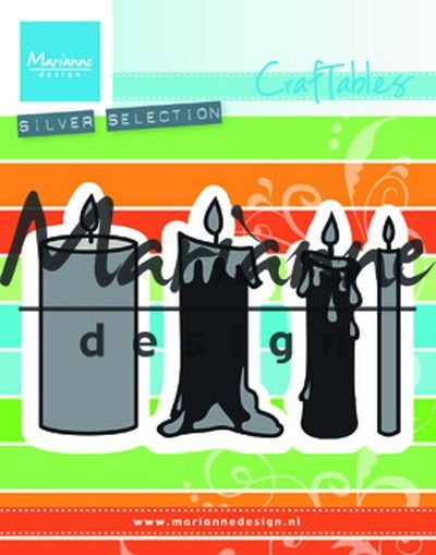 Marianne Design - Die - Craftables - Candles set - CR1426