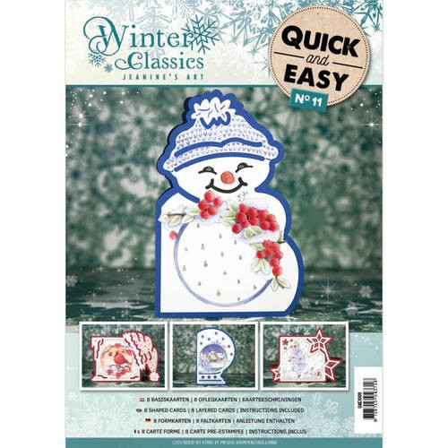 Card Deco - Quick and Easy 11 - Jeanine`s Art - Winter Classics - QAE10011
