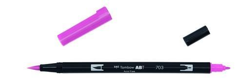 Tombow - Dubbele brushpen: pink rose - ABT-703