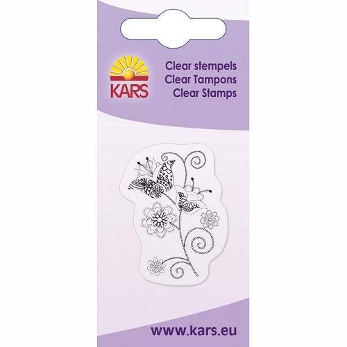 Kars - Clearstamp - Decorative roses - 180009/1014
