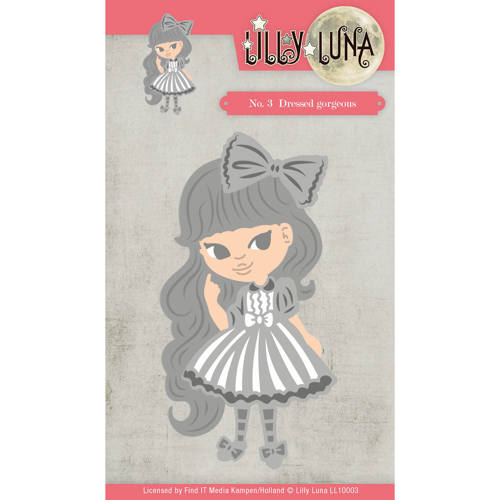 Lilly Luna - Die - Lilly Luna 1 - Dressed Gorjeous - LL10003